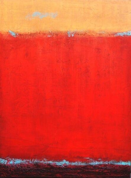 Peggy Hinaekian, 'Red Desert with Orange Sky', 2020
