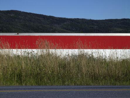 Ned Pratt, 'Trailer with a Red Stripe', 2011