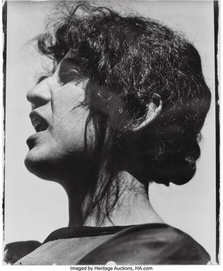 Edward Weston, 'Guadalupe Marin de Rivera, Mexico', 1924