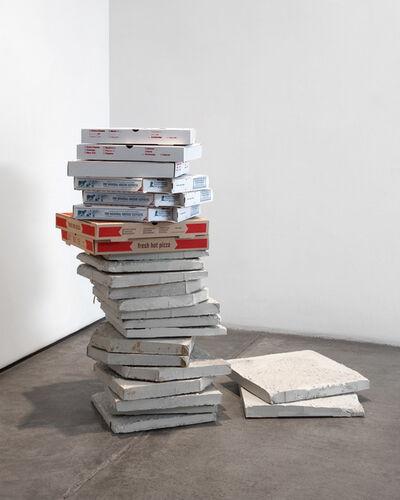 Matias Faldbakken, 'Pizza Box Tower #01', 2014