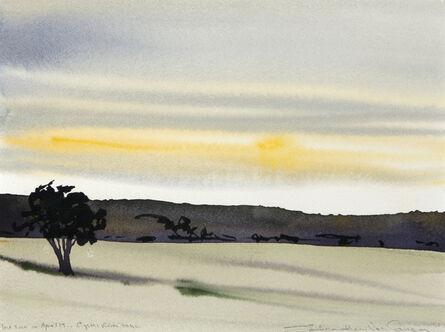 Susan Headley Van Campen, 'Low Sun on April 19'