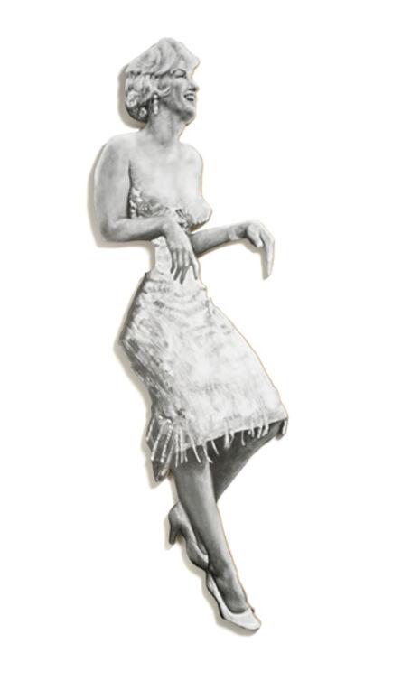 Nina Mae Fowler, 'Leaning Board II: Marilyn', 2014