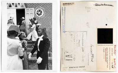 Leonard Freed, 'Wedding near Charleston, South Carolina', 1965