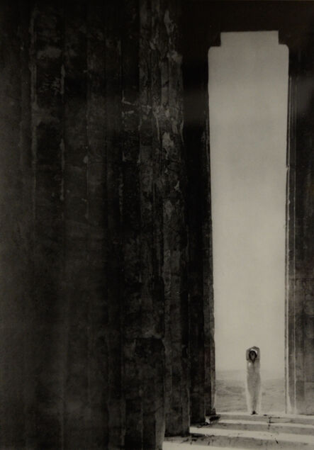 Edward Steichen, 'Isadora Duncan at the Columns of the Parthenon, Athens', 1921