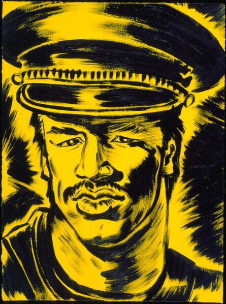 """Antonio Lopez, 'Portrait: Bill """"Blast"""" Cordero', 1985"""