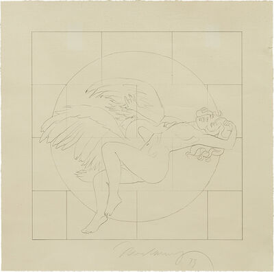 Mel Ramos, 'Leta and the Swan', 1973