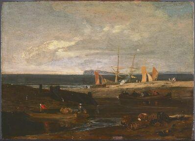 J. M. W. Turner, 'A Scene on the English Coast', ca. 1798