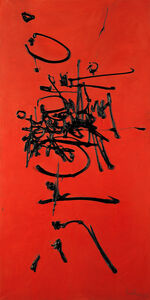Georges Mathieu, 'Usuard ', 1956
