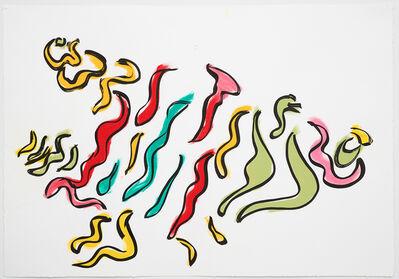 Sarah Crowner, 'Stripe Sketch 7', 2020