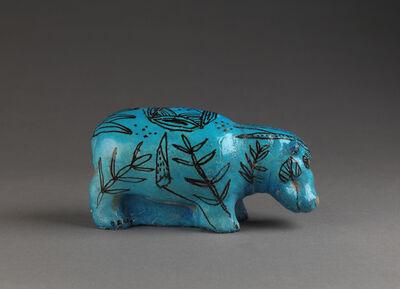 'Hippopotame (Hippopotamus) ', c. 3800-1700 BC