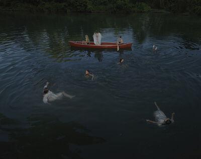 Julie Blackmon, 'Night Swim', 2021