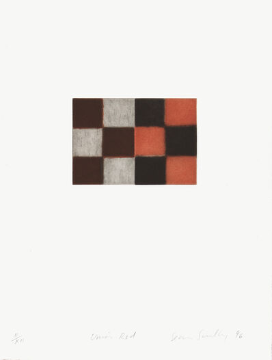 Sean Scully, 'Union Red', 1996