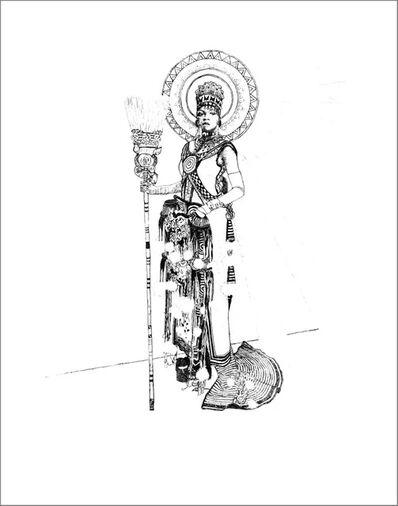 Xenobia Bailey, 'The Conjure Woman', 2015