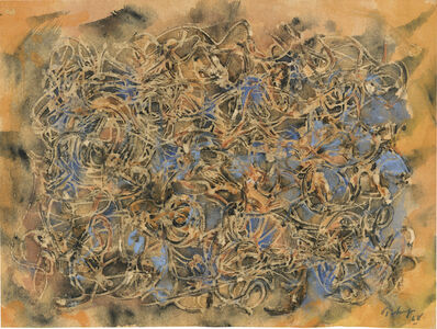 Mark Tobey, 'Sky and Earth', 1968