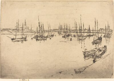 James Abbott McNeill Whistler, 'San Giorgio', 1880