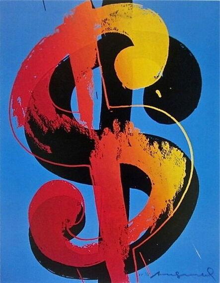 Andy Warhol, 'Dollar Sign', 1998