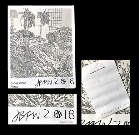 "Jonas Wood, '""jonas Wood Prints"", 2018, SIGNED, Exhibition Poster, Gagosian Gallery NY', 2018"