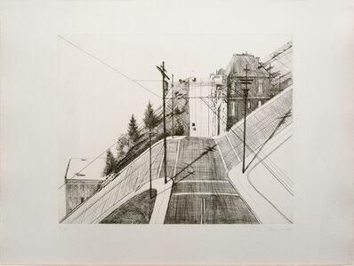 Wayne Thiebaud, 'Down Mariposa', 1979
