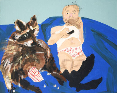 Susan Spangenberg, 'Man and Beast in Harmony', 2017