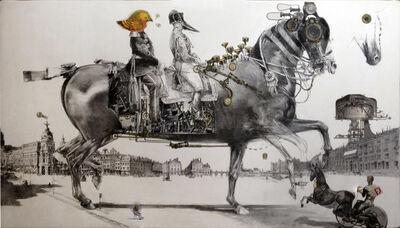 Bruno Mallart, 'Le Folding à l'amble flottant', 2017