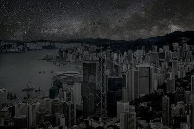 Thierry Cohen, 'Hong Kong 22° 17' 22'' N 2012-03-23 Lst 16:16', 2012
