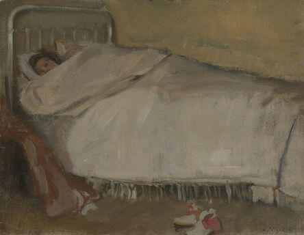 Alson Skinner Clark, 'The Lost Day, Paris', ca. 1902