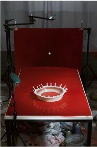 "Cortis & Sonderegger, 'Making of ""Milk Drop Coronet"" (by Harold Edgerton, 1957)', 2016"
