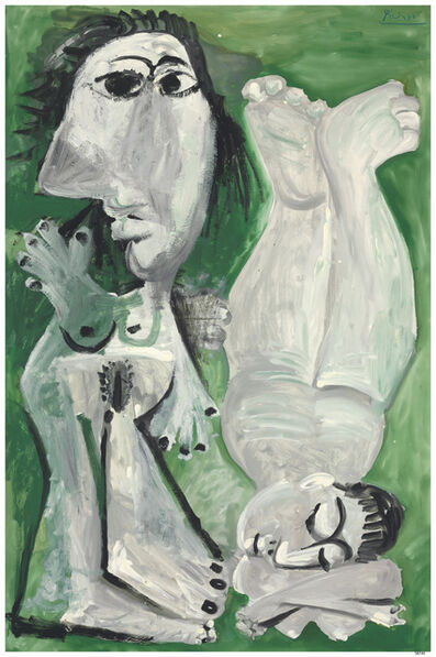 Pablo Picasso, 'Two Reclining Nudes', 1968