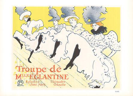 Henri de Toulouse-Lautrec, 'Troupe de Mlle Eglantine', 1966