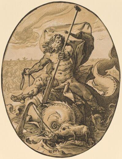 Hendrik Goltzius, 'Neptune', 1588/1590