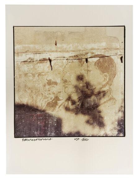 Robert Rauschenberg, 'Profiles on Wall', 1983