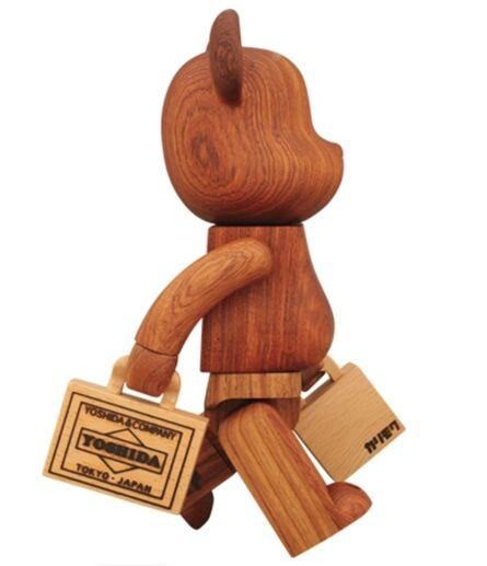 BE@RBRICK, 'Be@rbrick Yoshida 400% (Wood)', 2012