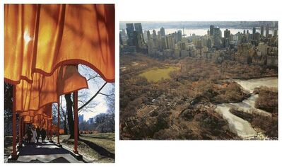 Christo and Jeanne-Claude, 'The Gates, Central Park, New York', 2005