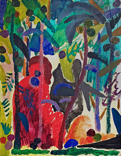 Shara Hughes, 'Jungle', 2014