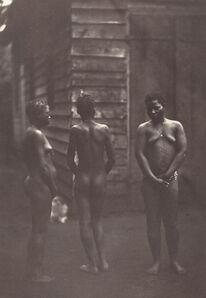 Claude Joseph Désiré Charnay, 'Trois Femmes Malgaches (Plate 30)', 1863
