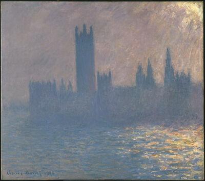 Claude Monet, 'Houses of Parliament, Sunlight Effect (Le Parlement, effet de soleil)', 1903