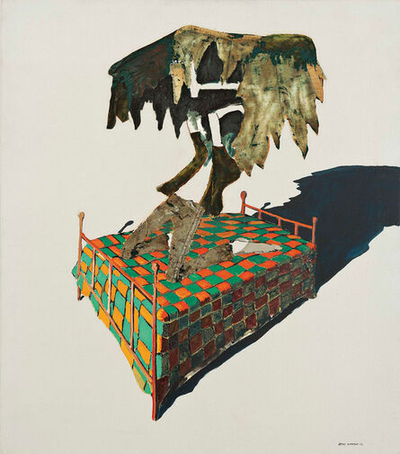 Benny Andrews, 'Circle Study #10', 1972