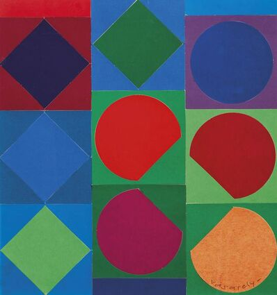Victor Vasarely, 'Composition', executed in 1968