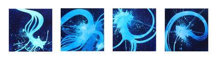 """Quim Bové, '""""Blue Time V, VI, VII, VIII""""'"""