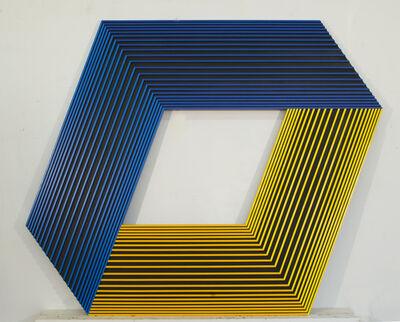 Richard Anuszkiewicz, 'Inner Yellow Light', 1989