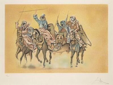 Salvador Dalí, 'Study for the Battle of Tetuan', 1962