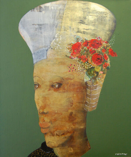 Adel El Siwi, 'Prince with red flowers ', 2019