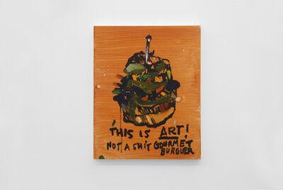 Alvaro Seixas, 'Untitled Painting  (Not a Shit Gourmet Burguer)', 2017