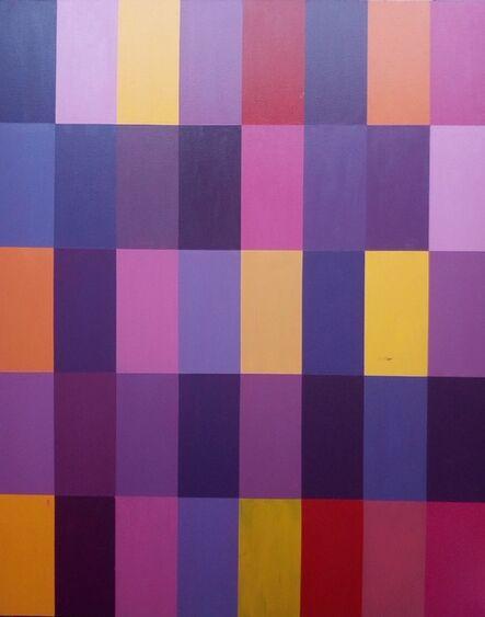 Jaime Higa Oshiro, 'Composición II (Rojo)', 2018