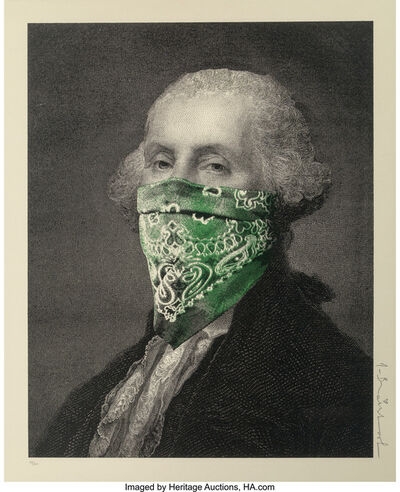 Mr. Brainwash, 'Presidents Day (Green)', 2018