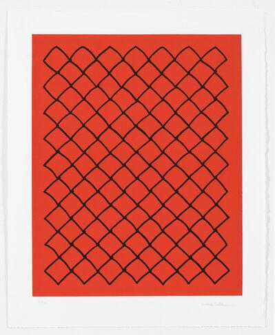 Mona Hatoum, 'Untitled (fence, red)', 2018