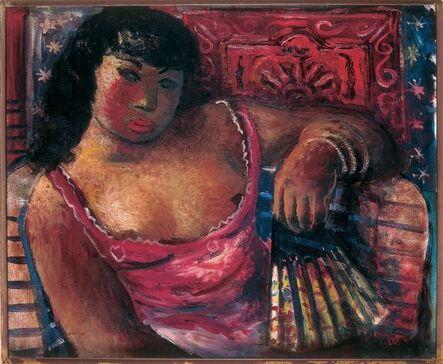 Emiliano Di Cavalcanti, 'Mulata com leque', 1937