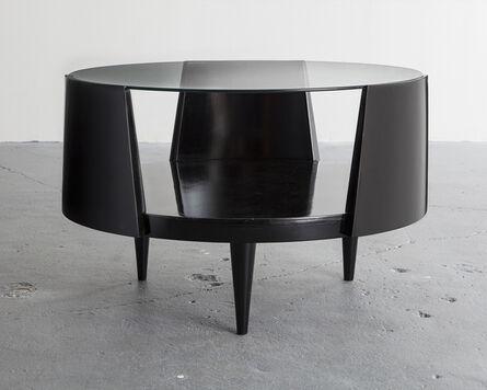Eisler, 'Round coffee table', 1950s