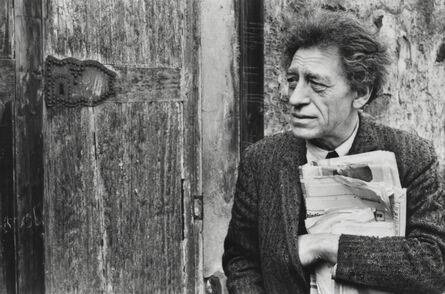 Henri Cartier-Bresson, 'Portrait of Alberto Giacometti, 1961', printed later
