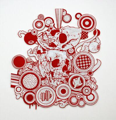 Kenichi Yokono, 'two skulls', 2011